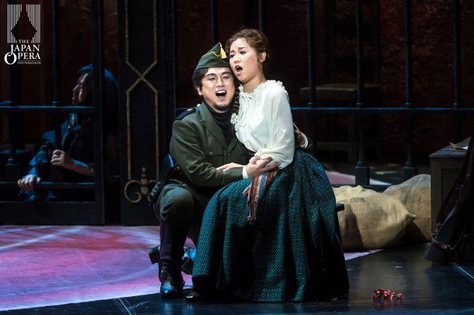 第1幕よりミカエラとドン・ホセの二重唱