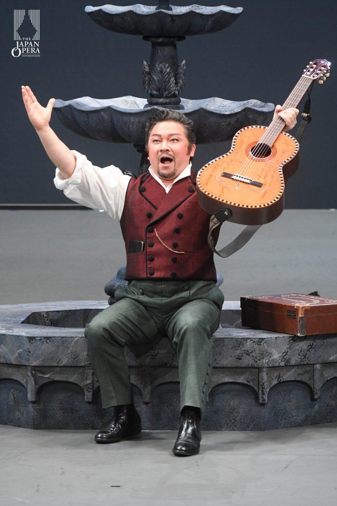 第1幕より フィガロのアリア「私は町の何でも屋」(谷 友博)