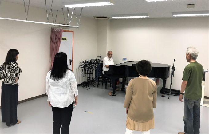 藤沢 発声練習