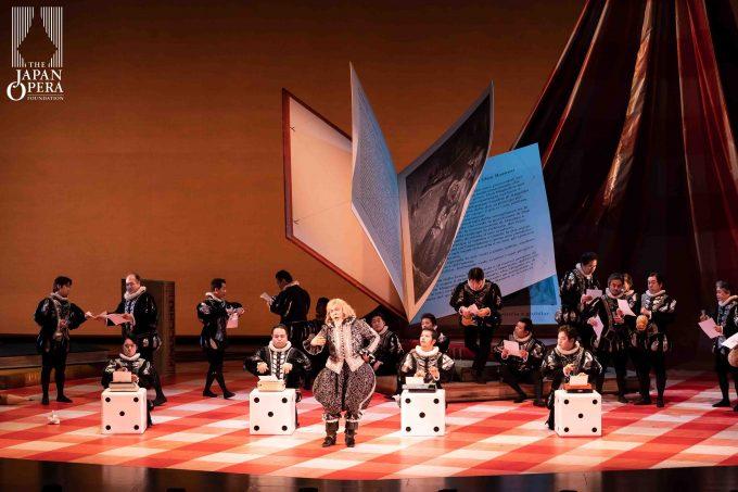 第1幕より ドン・マニーフィコ(谷 友博)、男声合唱