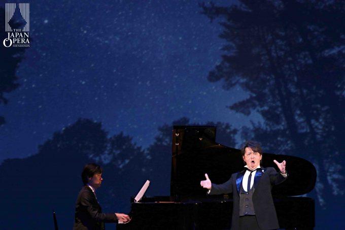 """中鉢 聡 オペラ「ひかりのゆりかご」より""""満点の星空"""""""