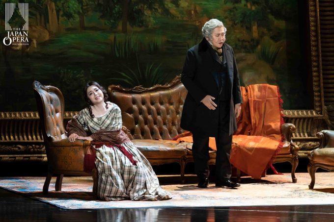 第2幕 第1場より ヴィオレッタ:砂川涼子、ジェルモン:牧野正人