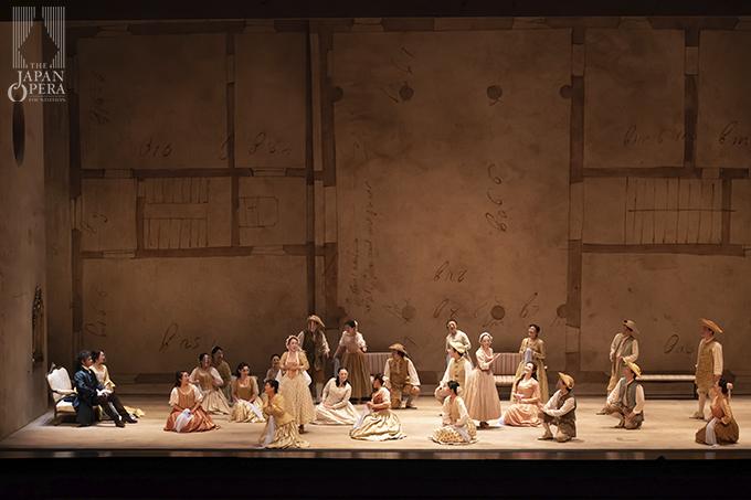 第3幕より 農民の娘(中桐かなえ/丸尾有香)、合唱:藤原歌劇団合唱部